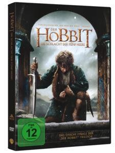 Der Hobbit - Die Schlacht Der Fünf Heere - Cover: DVD