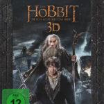 """""""Der Hobbit: Die Schlacht der fünf Heere"""" Extended Edition - 3D BD Cover"""
