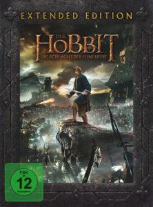 """""""Der Hobbit - Die Schlacht der fünf Heere"""" Extended Edition - DVD Cover"""