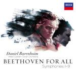 """Barenboim """"Beethoven für Alle"""" Cover (5-CDBox)"""