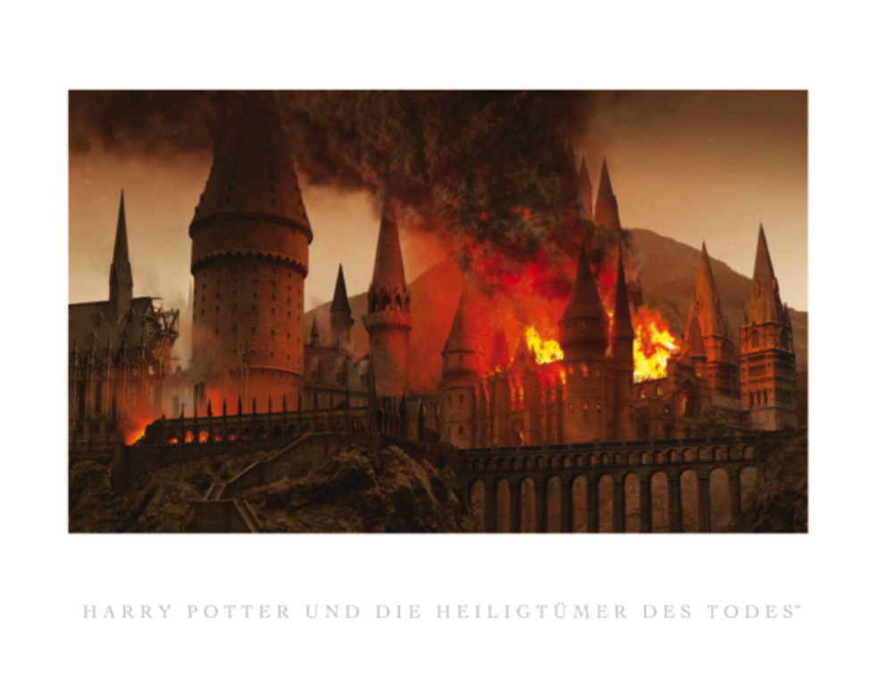 Harry Potter Zauberer Collection: rahmbare Konzeptzeichnung
