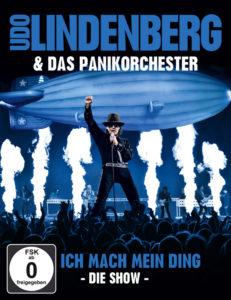 """02 Udo Lindenberg& Das Panikorchester """"Ich Mach Mein Ding - Die Show"""" BluRay-Cover"""
