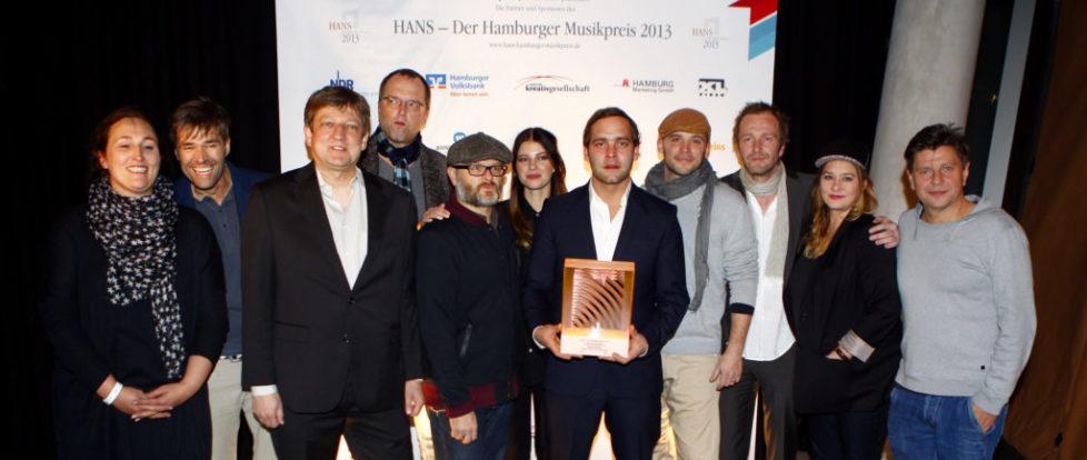 Hans 2013 - Gewinner des Abend: Bosse & Team [Photocredit: PublicAddress]