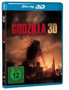 Godzilla - Cover BD 3D