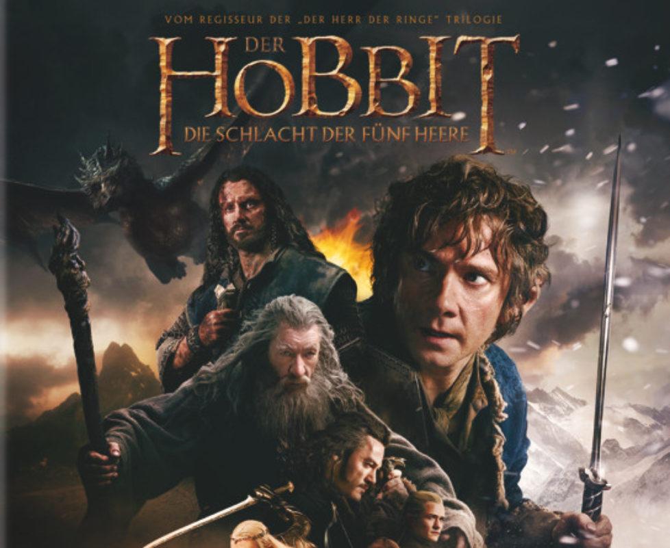 Der Hobbit - Die Schlacht Der Fünf Heere - Cover: Blu-ray