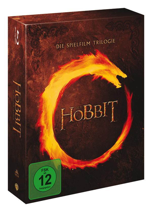 Der Hobbit - Die Spielfilm Trilogie [Blu-ray]
