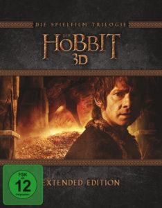 """""""Der Hobbit"""" - Trilogie Extended Edition - 3D BD Cover"""