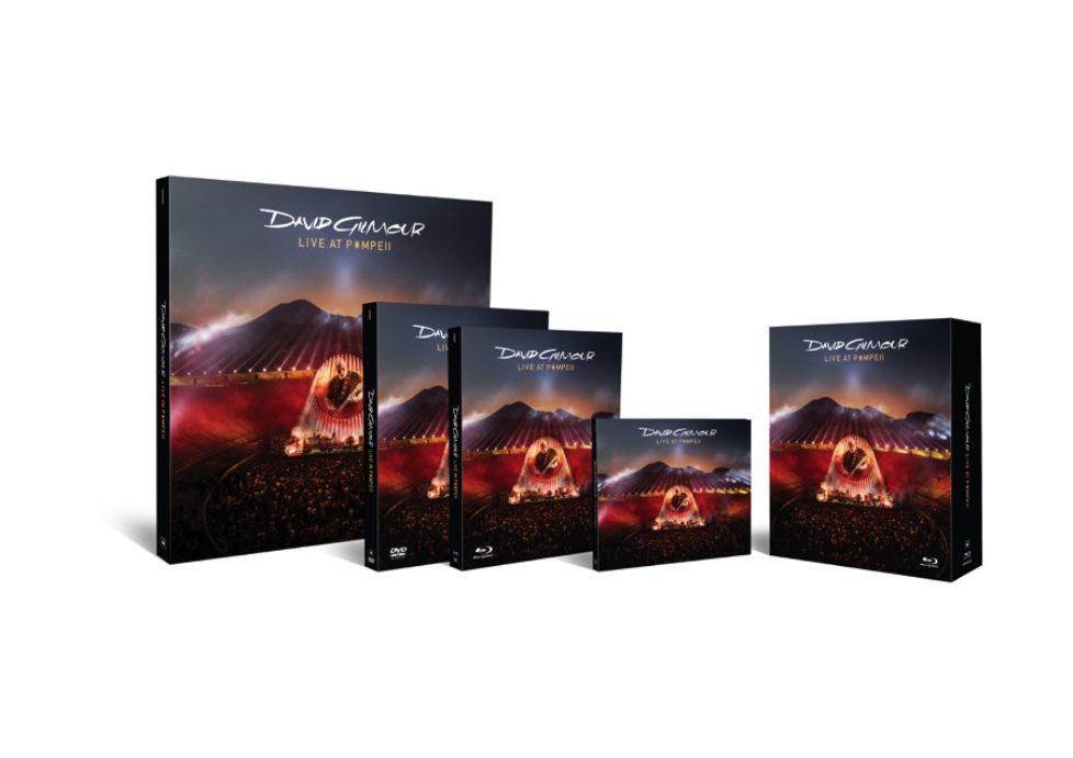 """David Gilmour """"Live At Pompeii"""" Deluxe Box Unboxing-Video sowie 1. Teil eines unterhaltsamen EPKs"""