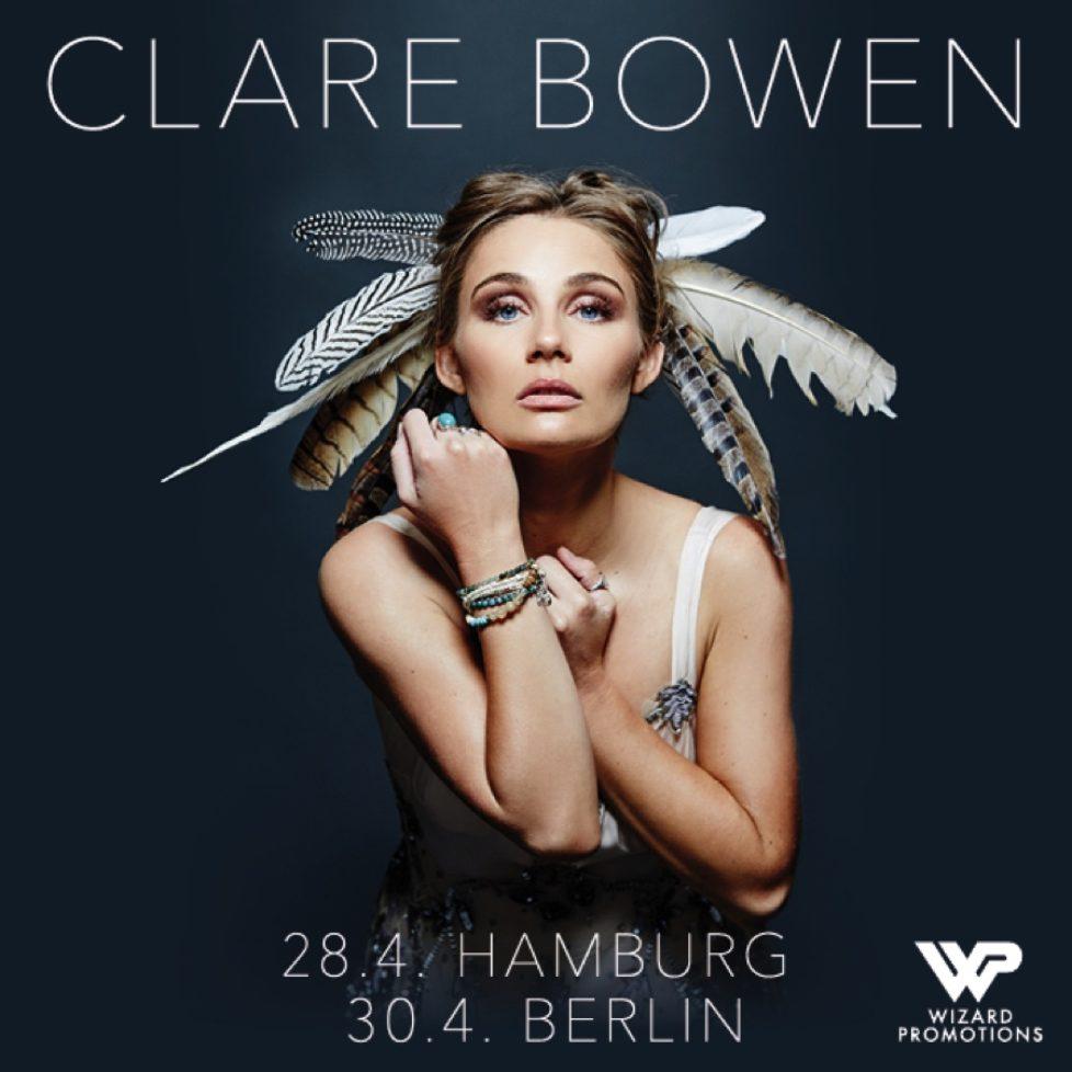 """Clare Bowen: Star der TV-Serie """"Nashville"""" mit  zwei Konzerten sowie Debütalbum in 2018"""