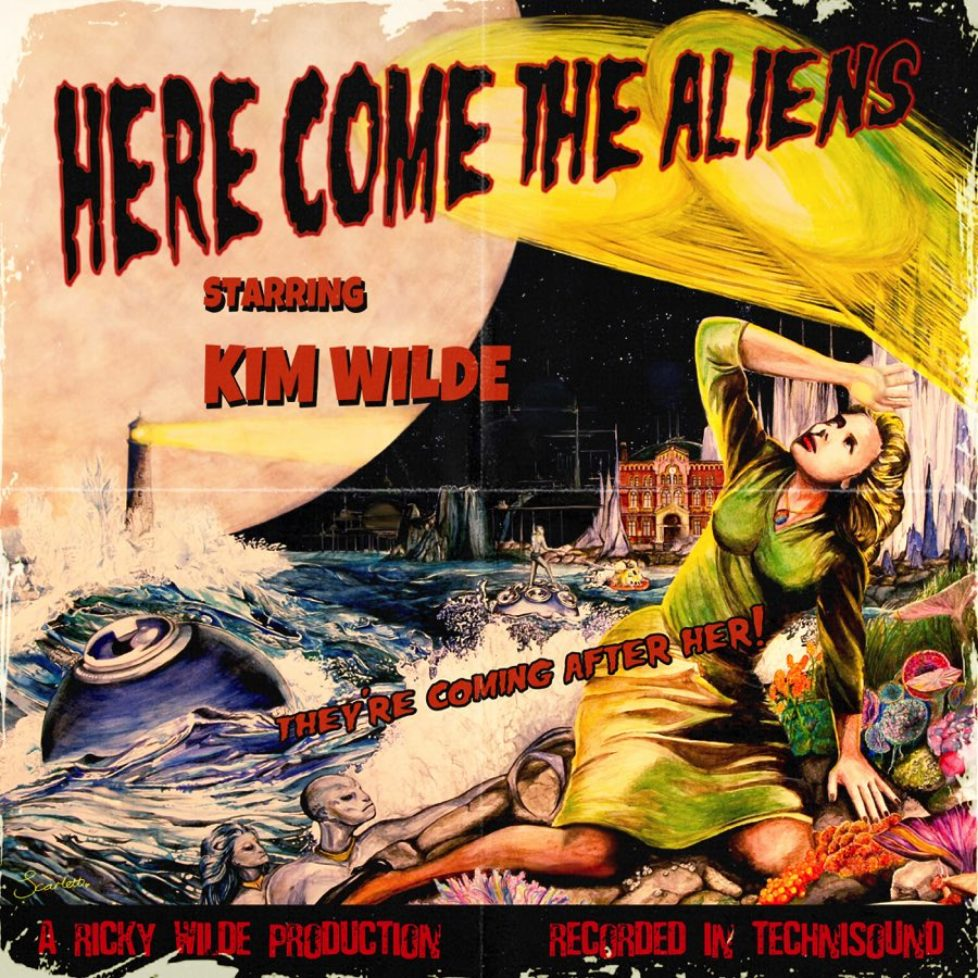 "Kim Wilde: Neues Studioalbum ""Here Come The Aliens"" entert die Album Charts"